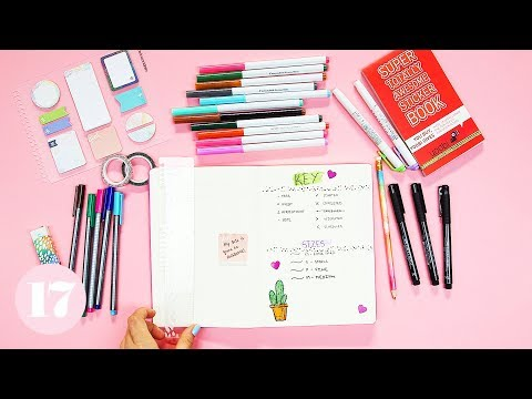 essential-supplies-for-beginning-a-bullet-journal-|-plan-with-me