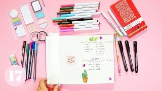 Essential Supplies For Beginning a Bullet Journal | Plan With Me