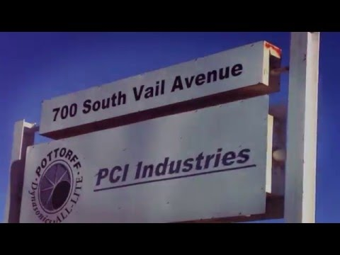 PCI Industries'  (Pottorff) Montebello Factory Where the Magic Happens!