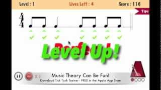 Rhythm Trainer App - Tick Tock Trainer (FREE on the App Store)