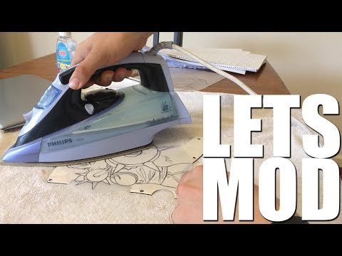 LET'S MOD: DIY Guitar Pick Guard Decal (without decal paper)