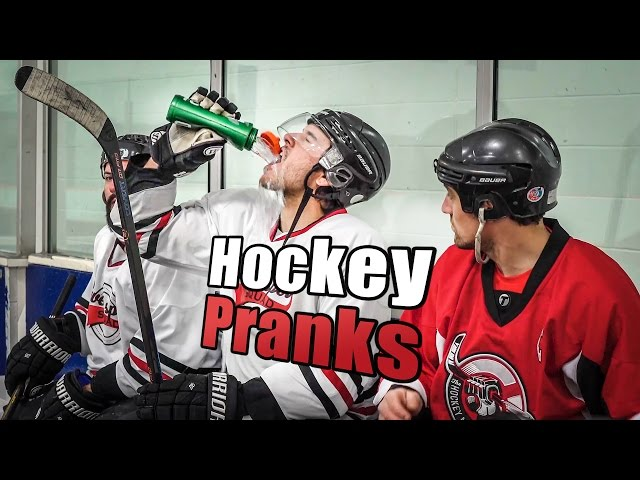 Hockey Pranks and Jokes