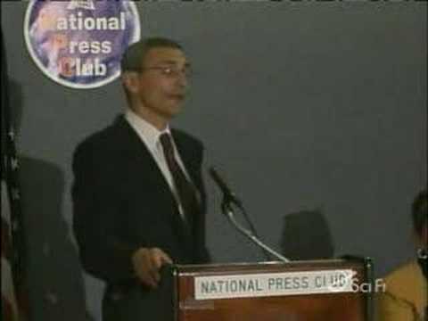 Clinton White House Chief of staff John Podesta on UFOs