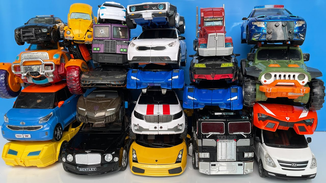 Transformers Animation Collection Tobot V - Robot Truck, Optimus Prime, Carbot Mainan Various of Car
