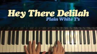 Plain White T's - Hey There Delilah (Piano Cover by Amosdoll)