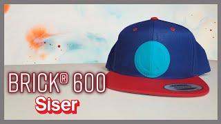 Brick® 600 - El vinil textil de Siser con acabado de goma y relieve 3D!