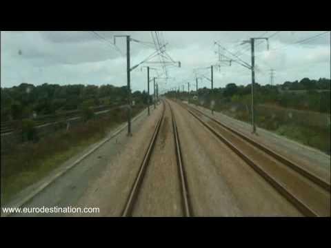 Eurostar Driver View Timelapse