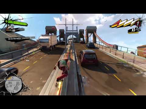 Sunset Overdrive Walkthrough without commentary  