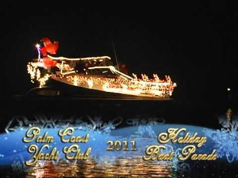 Palm Coast Yacht Club Boat Parade 2011.mpg