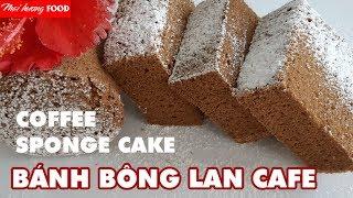 Mai huong food I BÁNH BÔNG LAN CAFE – nướng bánh nồi cơm điện- How to make COFFEE SPONGE CAKE