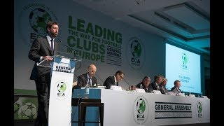 Eca Member Clubs Discuss The Future Of The Uefa Europa League | 21st Eca General Assembly