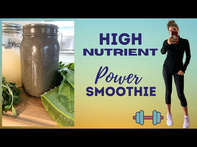 WHY YOU NEED THIS HEALING SMOOTHIE! / HIGH NUTRIENT /HIGH PROTEIN / RAW VEGAN SMOOTHIE
