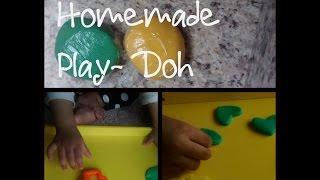DIY : Playdough (PLAY DOH) Easy home recipe | NO COOKING | No Cream of Tartar | Non Toxic