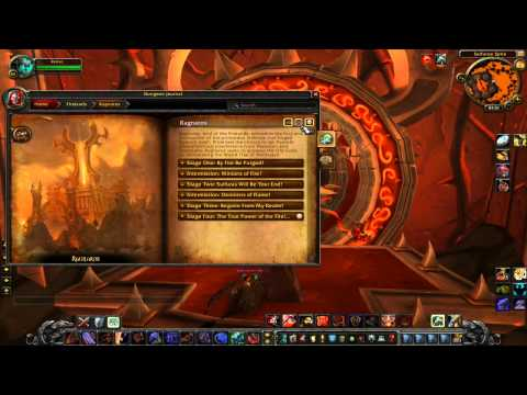 WoW 4.2 [PTR]: Look at the Dungeon Journal
