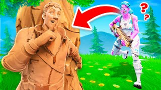 Going INVISIBLE to Cheat in Fashion Show… (Fortnite)