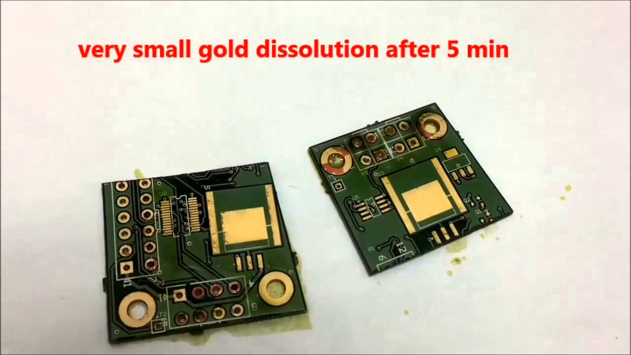 An Easy Way To Recover Gold From Electronic Scraps
