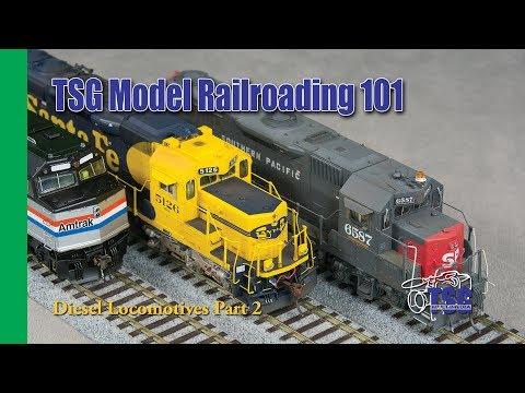 Model Railroading 101 Ep. 9 Diesel Locomotives For Beginners Pt 2