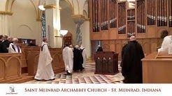 Mass live at Saint Meinrad