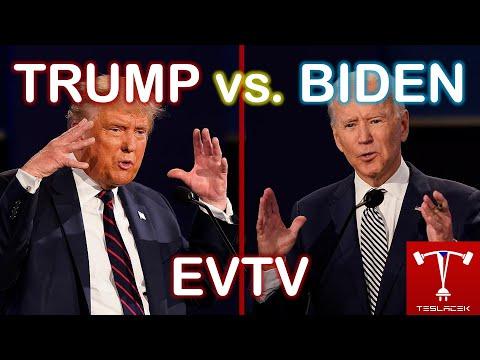 #233 EVTV: Trump vs. Biden | Teslacek