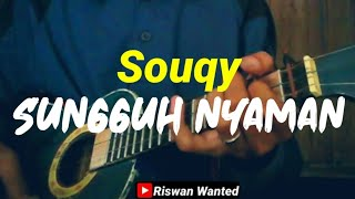Download Sungguh Nyaman - Souqy cover kentrung By:Riswan Wanted