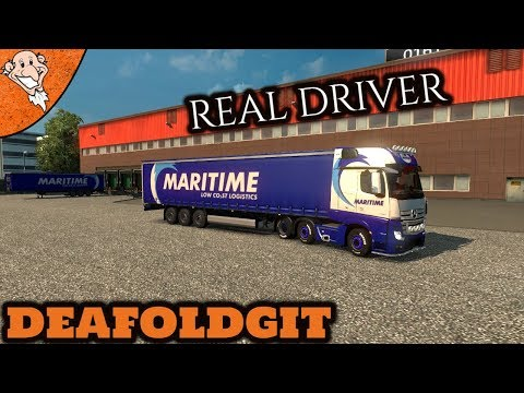 ✅  ETS 2   Maritime Transport LTD   Real Driver   Special Transport   gameplay