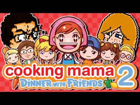Let's Play Cooking Mama 2 Dinner With Friends Part 1: Christmas Gameplay - Even Better Than Mama!
