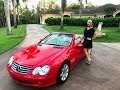 SOLD 2003 Mercedes-Benz SL500, only 37000 Miles, for sale by Autohaus of Naples, 239-263-8500