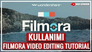 Filmora Editleme Programı Genel Tanıtım