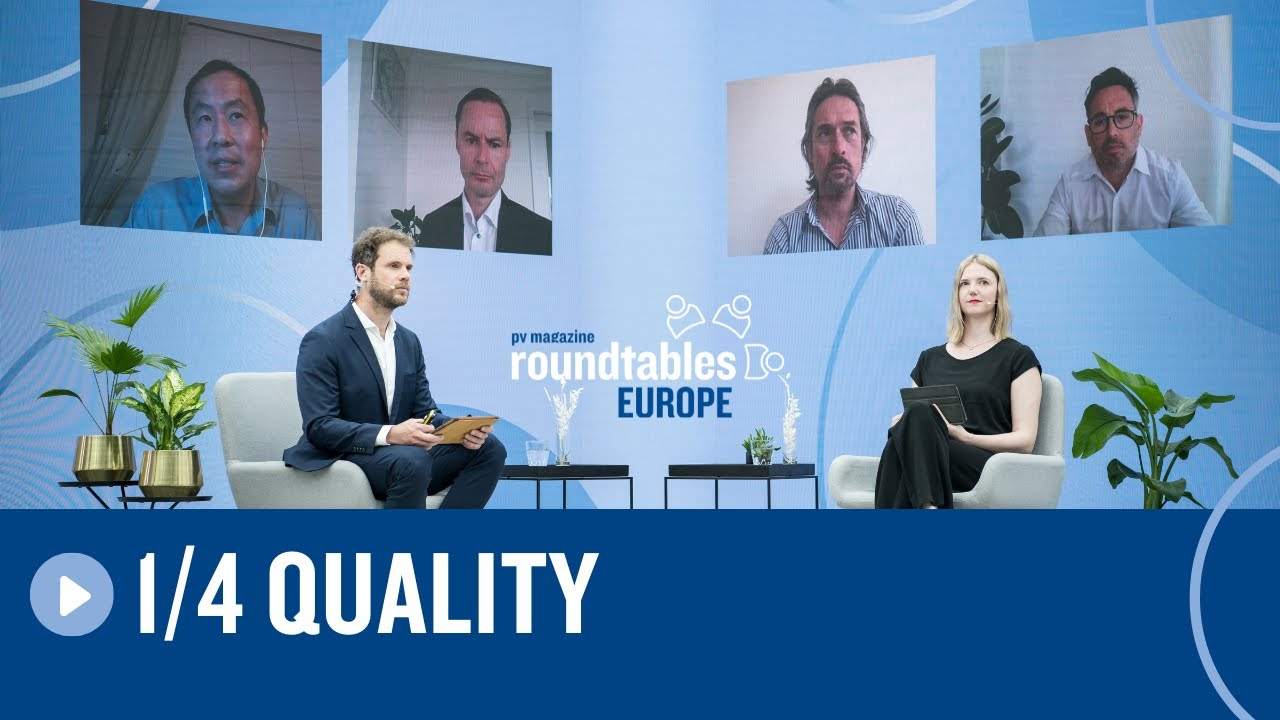 Roundtables Europe 2021 | Cornerstone 1 | Quality