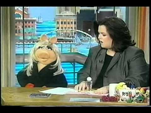 """Miss Piggy on """"The Rosie O'Donnell Show""""  - February 8, 1999"""