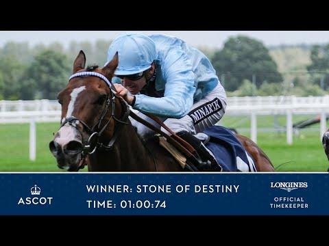 Stone Of Destiny Wins The Dubai Duty Free Shergar Cup Dash