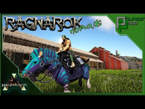 Ark: Ragnarok Nomads 66 - EQUUS ADVENTURE TO TAME ALLOSAURUS'