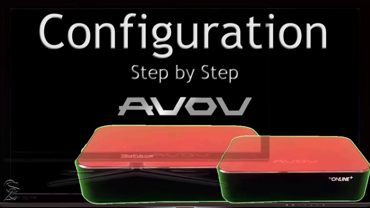 AVOV TVonline + configuration steps