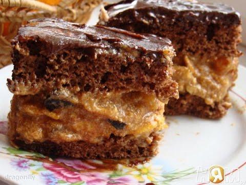 торт сникерс рецепт з фото