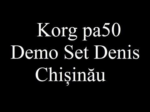 Korg pa50 Demo Set Denis