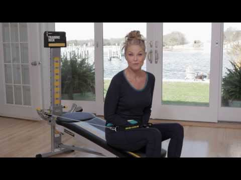 Ab Workout with Christie Brinkley