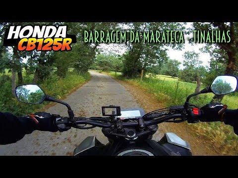 🏍️ Honda CB125R ▶️ da Barragem da Marateca a Tinalhas 🌳🌲