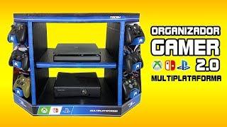 ORGANIZADOR GAMER 2.0 - Mueble para CONSOLAS y VIDEOJUEGOS
