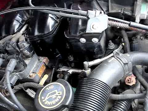 1999 ford explorer 4 0l ohv engine vacuum leak video 2 rh youtube com Briggs and Stratton OHV Engine Parts Diagrams 18 HP Intek Engine Diagram