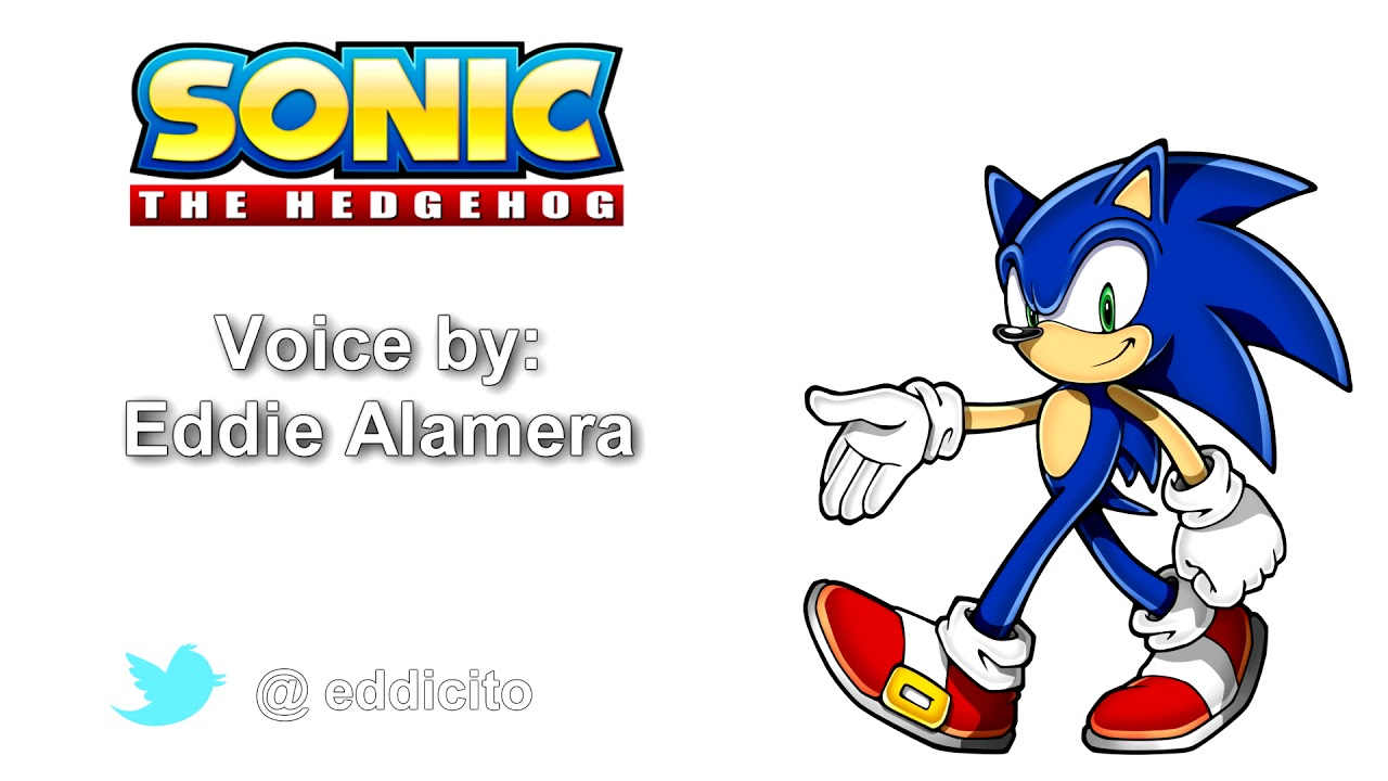 Sonic The Hedgehog Voice Acting Demo Youtube