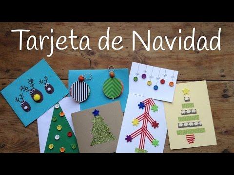 10 ideas muy originales para hacer tarjetas de Navidad infantiles en casa con los peques