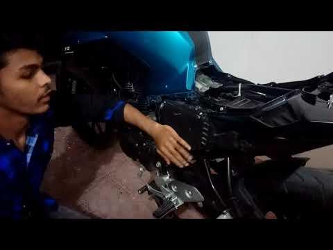 Yamaha 's fz 250 with k&N performance airfilter 2017