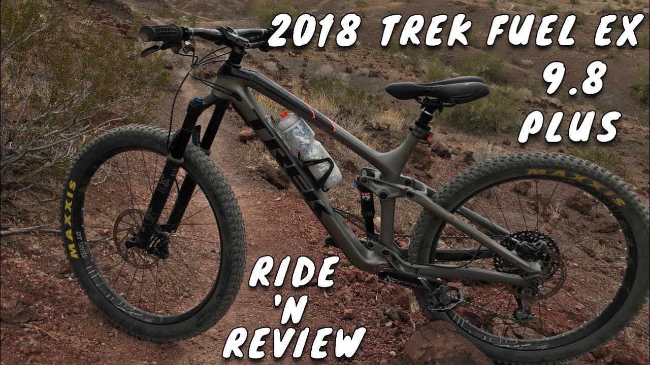 c389b361a0d 2018 TREK FUEL EX 9.8 PLUS TEST RIDE & REVIEW - YouTube