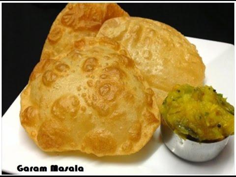 Perfect Poori / Puri And Potato Masala Kerala Style