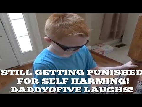 Thumbnail: DaddyOFive CONTINUES mocking son for SELF HARD!