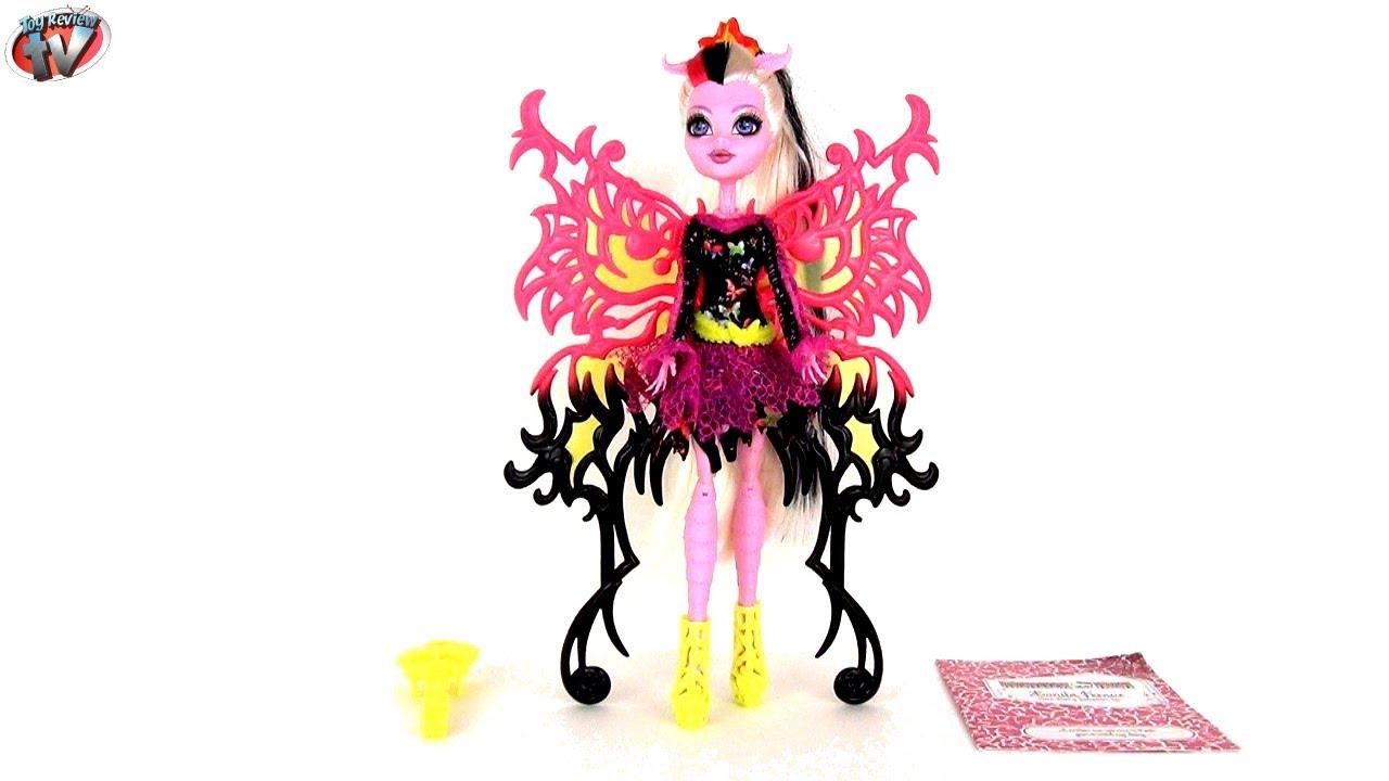 Monster high freaky fusion bonita femur doll toy review - Monster high bonita ...