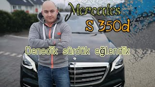Mercedes Benz s 350 d inceledik   araba incelemesi   detayları ve fiyatı  Yavuz Koc