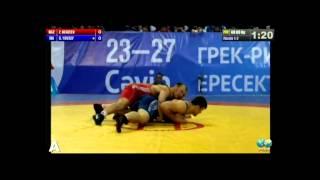 Чемпионат Азии: Ж.Кенжеев (KGZ) -  Г.Юсуф(IRI)