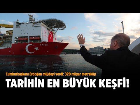 Cumhurbaşkanı Recep Tayyip Erdoğan müjdeyi açıkladı: 320 milyar metreküp doğalgaz bulundu