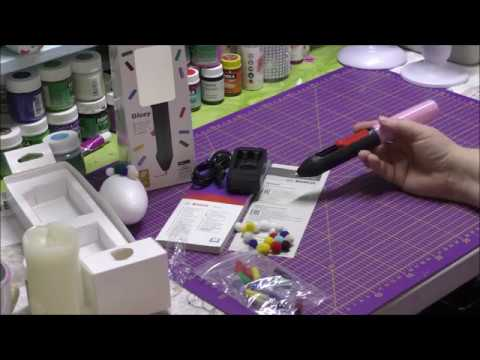 Видео обзор: Пистолет клеевой BOSCH GLUEY Evergreen